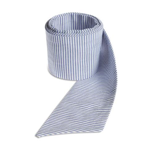 Blue striped ribbon