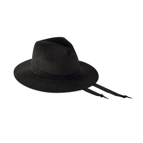 Lady Fedora 6,5 cm - Velour black