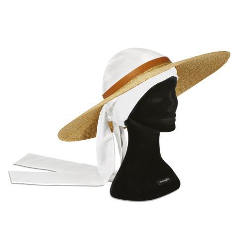 Bandana Hat cuoio