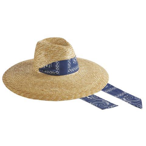 Liberty - blue bandana ribbon