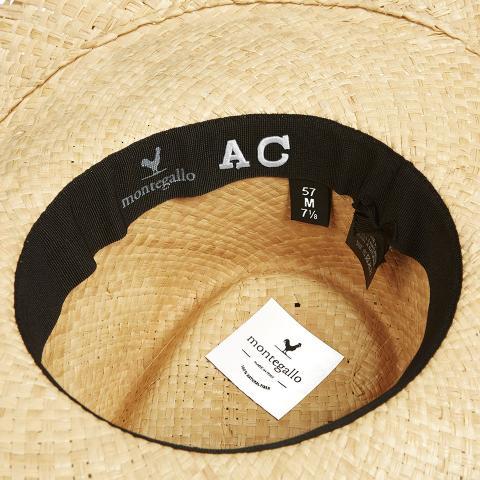 Big-Fringe-fascia-nero-cappello-di-paglia-personalizzato-montegallo