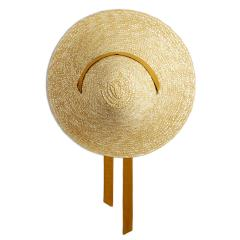 Cone-nastro-verde-oliva-cappello-di-pagllia-donna-montegallo